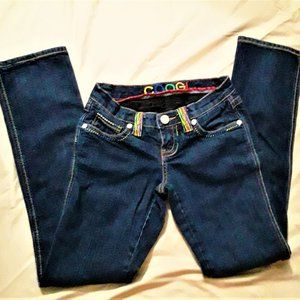 COOGI Jeans - Coogi jeans. 3/4. ,Dark wash.